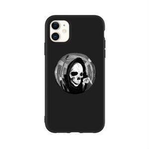 Peephole Skeleton Print iPhone 11 Pro Max 💀